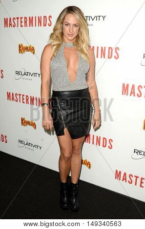 LOS ANGELES - SEP 26:  Tiffany Dunn at the