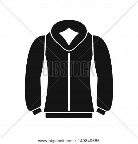 Sweatshirt icon in simple style on a white background vector illustration