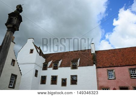 An external view of the Culross skyline