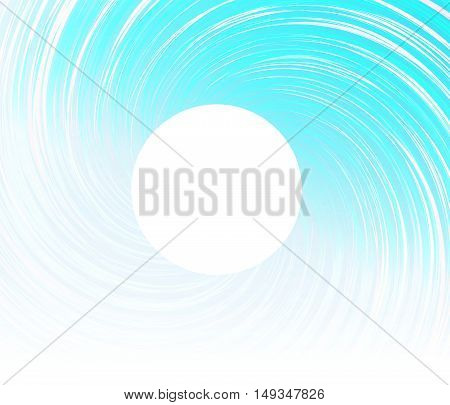 Isolated vortex on background.Whirlpool vector.Wave ornate illustration.Geometric .round shape.Abstract ornate ring.