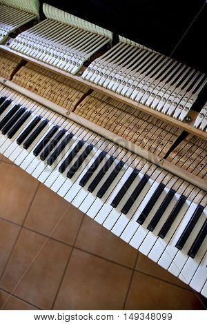 Grand Piano Keyboard