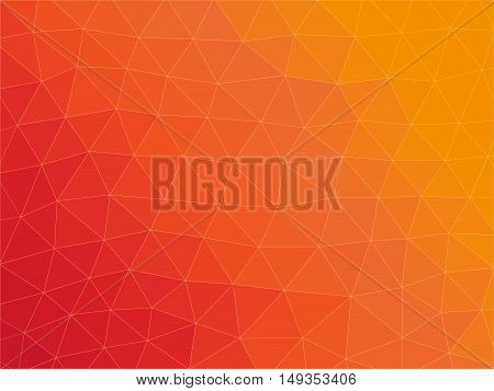 vector geometric background made of little triangles