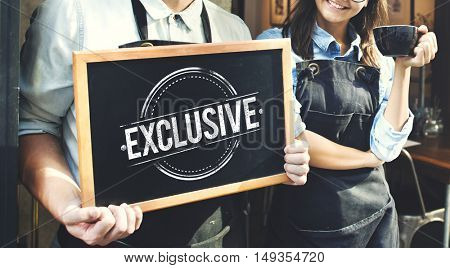 Business Exclusive Assurance Excellence Concept