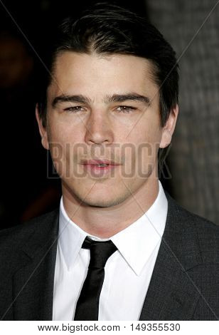 Josh Hartnett at the Los Angeles premiere of 'The Black Dahlia' held at the Academy of Motion Picture Arts and Sciences in Beverly Hills, USA on September 6, 2006.