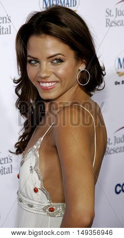 Jenna Dewan at the 'Runway For Life' Benefiting St. Jude Children's Research Hospital held at the  Beverly Hilton in Beverly Hills, USA on September 15, 2006.