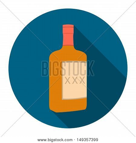 Alcohol icon cartoon. Singe western icon from the wild west collection.