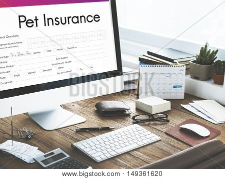 Pet Insurance Owner Puppy Safety Policy Animal Concept