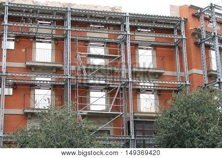 Old apartment house renovation in Palma de Mallorca