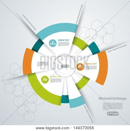 Business Pie Chart For Documents And Reports For Reports, Graph, Infographic, Business Plan.