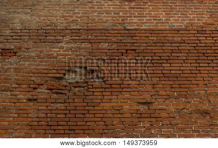 brick walltexturecan be use for the background wall of red brick