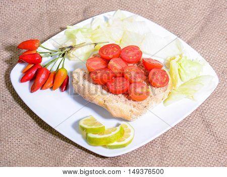 original finger food of Italian fine cuisine
