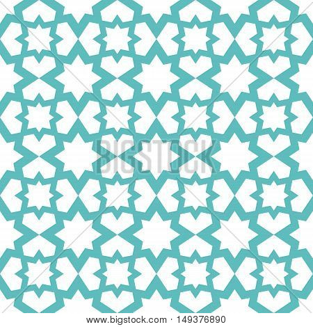 Arabian Seamless Pattern. The Pattern Can Be Used For Interior Design, Backgrounds, Textile Industry