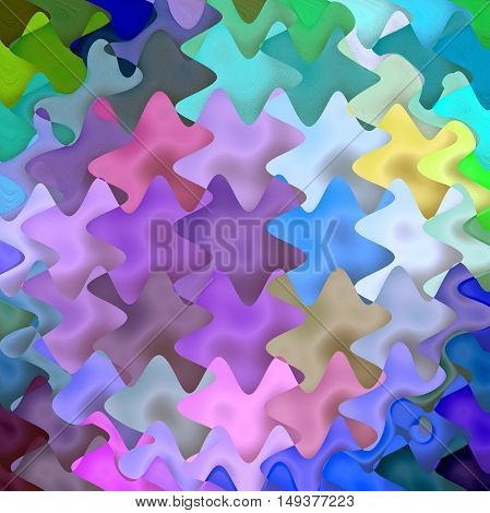 Abstract coloring background of the abstract background with visual lighting, mosaic,spherize and wave  effects.Good for your project design