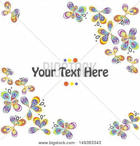 the beautiful and bright template for your design.
