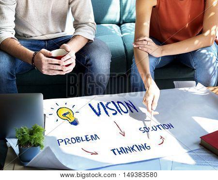 Strategy Idea Plan Brainstorm Analysis Concept