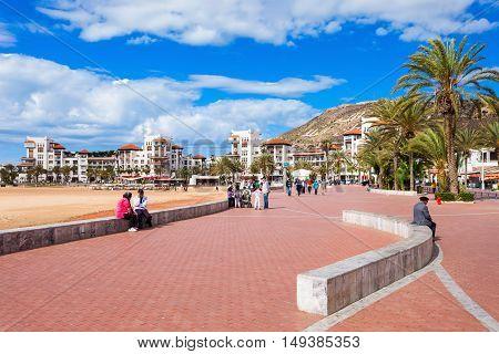 Agadir Seafront, Morocco