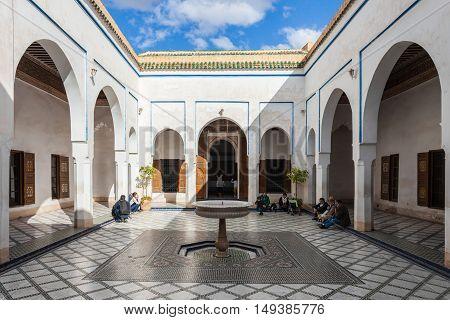 Marrakesh Bahia Palace