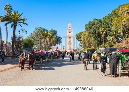 Horse Carriage, Marrakesh