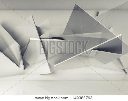 Double Exposure 3D Illustration, Computer Graphic
