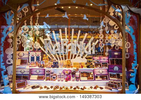 Chocolate Store Showcase, Bariloche