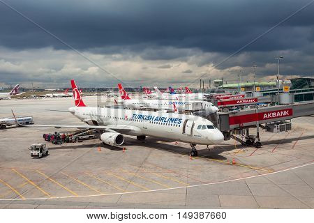 Istanbul Ataturk Airport, Turkey