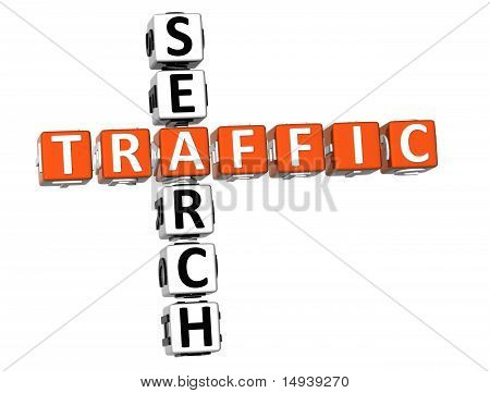 Traffic Search Crossword