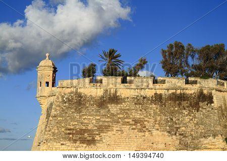 The Eye & Ear Vedette Watchtower In Senglea, Malta