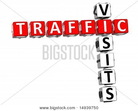 Traffic Visits Crossword