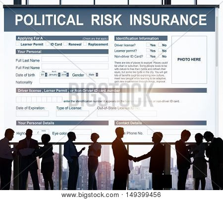 Political Risk Insurance Failure Financial Concept