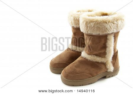 Fluffy Warm Boots
