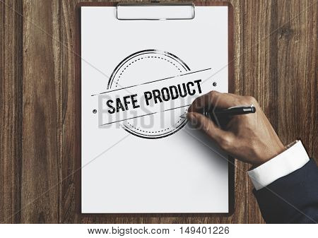 Safe Product Guarantee Quality Condition Level Concept