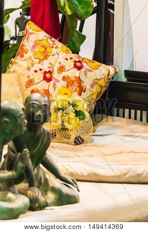 Interior design showcase: Modern Bedroom in domestic room.