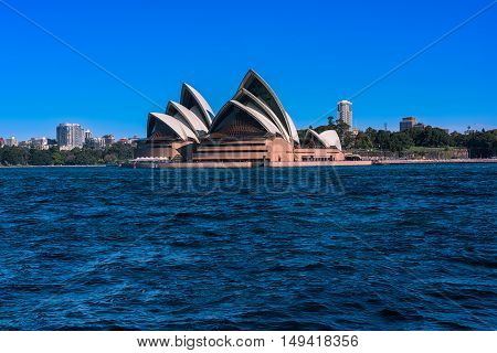 Sydney Opera House NSW Australia.Sep 29,2016Sydney Opera House is one of the modern building, well known worldwide.