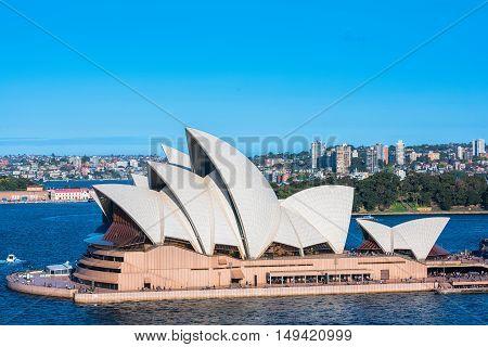 ydney Opera House NSW Australia.Sep 29,2016 The Sydney Opera House is famous arts center. It was designed by Danish architect  Jorn Utzon