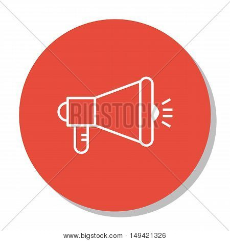 Vector Illustration Of Seo, Marketing And Advertising Icon On Viral Marketing In Trendy Flat Style.