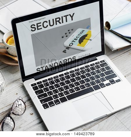 Security Computer Authorization Graphic Concept