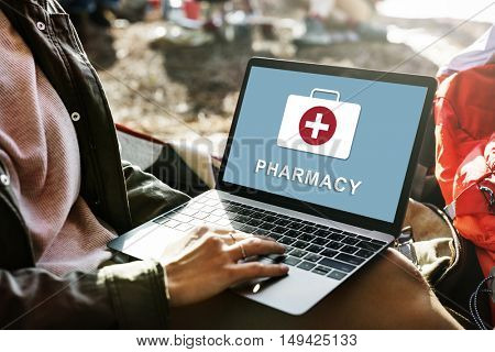 Pharmacy Healthcare Medical First Aid Concept