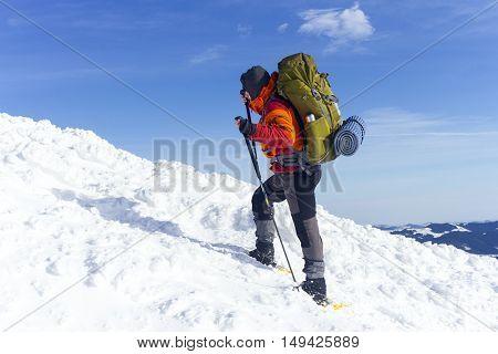 Winter Hiking.
