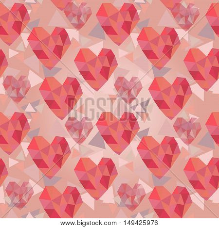 Heart Triangle Texture1.eps