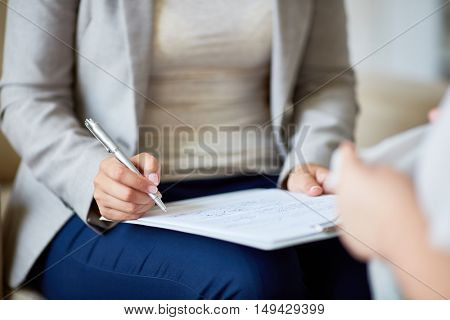 Psychological notes