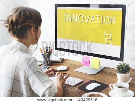 Innovation Creativity Design Ideas Bulb Concept