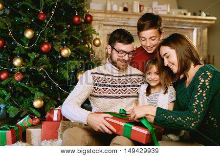 Preparing presents