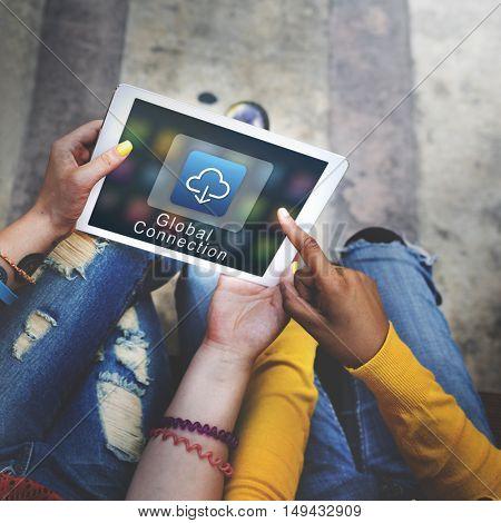 Application Connection Digital Internet Graphic Concept