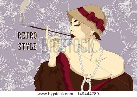 Retro Woman3 [