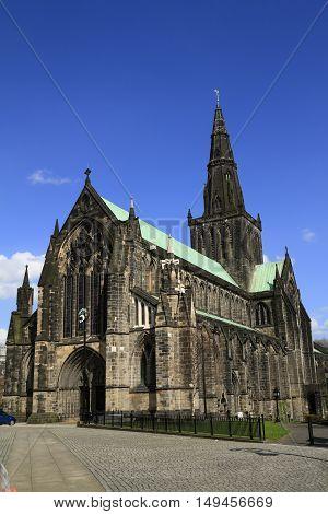 Glasgow Cathedral Scotland, Uk