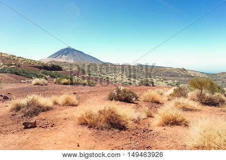 national park of volcan Teide, Tenerife island, Spain