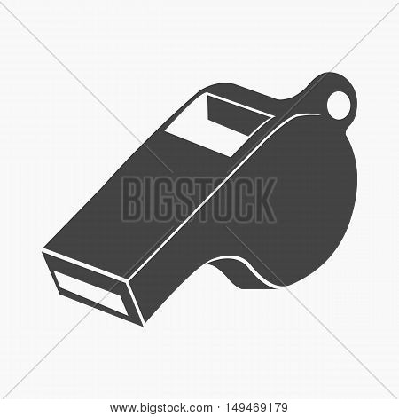 Whistle icon cartoon. Single sport icon from the big fitness, healthy, workout collection.