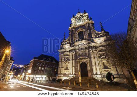 Saint Michael's Church in Leuven. Leuven Flemish Region Belgium