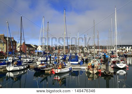 Arbroath Harbor, Scotland