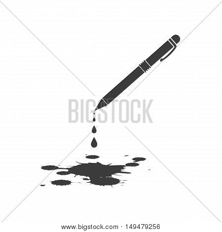 Blots Icon Vector. Flat Icon Blots. Flat Vector Illustration For Web Banner, Web And Mobile. Vector